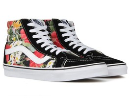 Vans Sk8-Hi Reissue Mens Digi Aloha Black True White Skate shoes Size 5.... - £59.94 GBP
