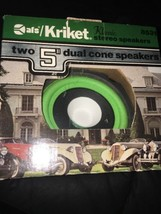 "Kricket Klassic Stereo Speakers 8531 Two 5"" Dual Come Speaker - $57.23"