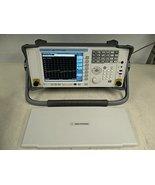 Agilent N1996A Option 506 Spectrum Analyzer 100KHz-6 GHz T119386 - $5,489.00