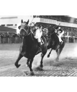 Seabiscuit beat War Admiral CTK Vintage 16X20 BW Horse Racing Memorabilia Photo - $29.95