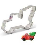 Ann Clark Cookie Cutters Extra Large Vintage Pickup Truck with Christmas... - $22.99