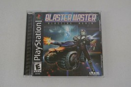 Blaster Master Blasting Again PlayStation Video Game 2001 Rated E One-Player   - $19.34