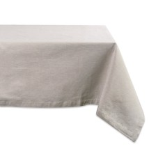DII Cotton Chambray Pastel Tablecloth for Spring & Summer with a Denim W... - $42.23