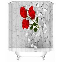 Shower Curtain Chinese Style Jiangnan Style Town Flower Shower High Qual... - $31.00+
