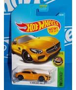 Hot Wheels New For 2017 HW Exotics Series #256 '15 Mercedes-AMG GT Yello... - $3.00