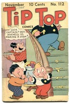 Tip Top Comics #112 1945- Captain and the Kids- F/G - $37.83