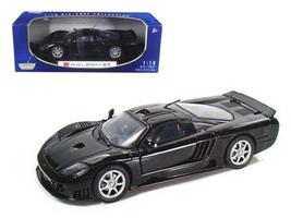 Saleen S7 1/18 Black Diecast Car Model by Motormax - $53.32