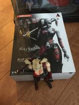 Play Arts Kai Batman Arkham City Harley Quinn No. 5 Action Figure comple... - $167.99