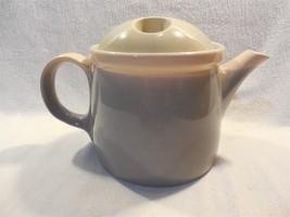 Vintage Mikasa Japan Discovery Aruba Ben Seibel Pink Grey Tan Teapot P3004 - $14.95