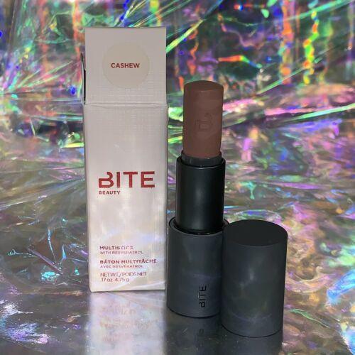 NIB Bite Beauty Multistick CASHEW Eye Face Lip Multitasker Sold Out DISCONT FULL