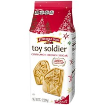 PEPPERIDGE FARM 7.2 oz^ Bag TOY SOLDIER Cinnamon Brown Sugar COOKIES Exp... - $11.99