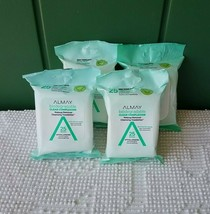 Almay Makeup Remover Towelettes Wipes 25 Count biodegradable clear complexion - $10.90