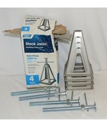 Camco 44560 Stack Jacks Set Of 4 Travel Trailer Stabilizers - $65.89
