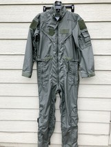 NEW US AIR FORCE NOMEX FIRE RESISTANT FLIGHT SUIT GREEN CWU-27/P - 40R - $113.85
