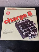 General Electric GE Charge 8 Rechargeable Battery Charger NiCad Nicklel ... - $14.92