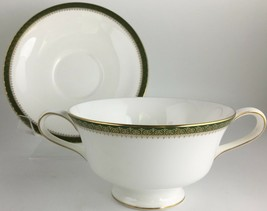 Wedgwood Chester Cream soup bowl & saucer - $45.00