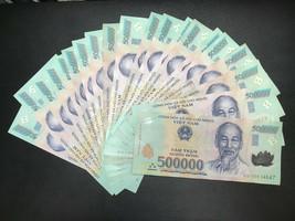 10 Million Vietnamese Dong (20 x 500,000 circulated bank notes) - $812.05