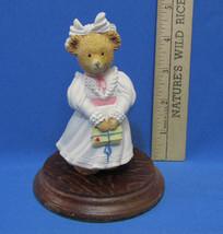 The Upstairs Downstairs Bears Dept 56 Kitty Bosworth Figurine Eldest Child - $9.89