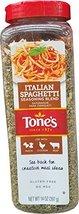 Tone's Italian Spaghetti Seasoning Blend, 14 Ounce - $16.22