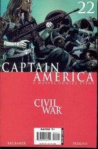 Captain America #22 Civil War (The Drums of War... - $3.69