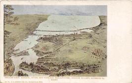 Balloon View Panorama Duluth Minnesota 1905c postcard - $7.43