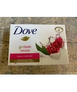 Dove Go Fresh Revive Beauty Cream Bar 4.75 oz Pomegranate Lemon Verbena ... - $7.87
