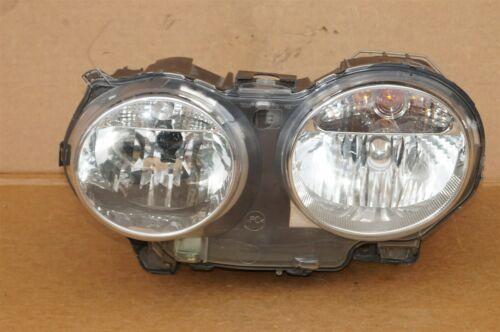 04-07 Jaguar XJ8 XJR VDP Headlight Lamp Halogen Driver Left Side LH - POLISHED