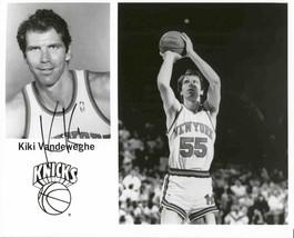 Kiki Vandeweghe Signed Autographed Glossy 8x10 Photo - New York Knicks - ₹2,131.71 INR