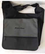 Leeds Ernst Young Black and Grey Messenger Crossbody Sling Bag - $39.99
