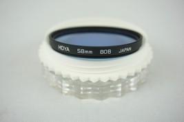 Hoya 80B 58mm Japan Blue Conversion Filter - $11.95