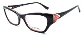 GUESS GU2747 005 Women's Eyeglasses Frames Cat-eye 51-16-140 Black - $64.25