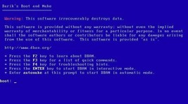 Darik's Boot and Nuke (Hard Disk Drive Data Erase, Wipe, Format) Windows/Mac CD - $9.95