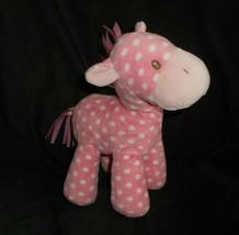 Bebé Gund Polo & Amigos Rosa con Lunares Pony 4050498 Peluche Plush Toy - $23.08