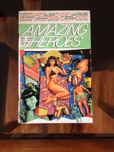 AMAZING HEROES #164 Swimsuit Special Bettie Page 1989 Mitch O'Connell Te... - $14.65
