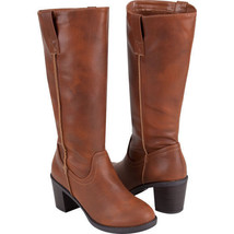 Soda Like Tan Boots Size 6.5 Brand New - £34.00 GBP
