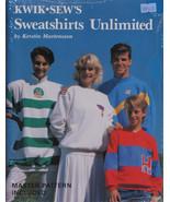 Kwik Sew's Sweatshirts Unlimited Sewing Book by Kerstin Martensson M516.06 - $21.95