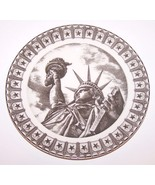 "LOVELY 222 FIFTH SLICE OF LIFE MISS LIBERTY ANTAR DAYAL 8"" SALAD PLATE - $13.45"