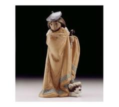 Lladro Porcelain Retired 01012401 LITTLE SHEPHERD Brand New Gres 2401 bo... - $420.75