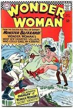 WONDER WOMAN #162 1966-DC COMICS-MINISTER BLIZZARD!! FN/VF - $63.05