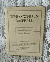 1951 MLB Who's Who in Baseball Clifford Bloodgood Stats Di Maggio Jack R... - $13.53