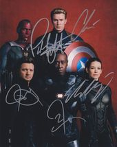 The Cast of The Avengers Signed Autographed Glossy 8x10 Photo COA Holograms - $399.99