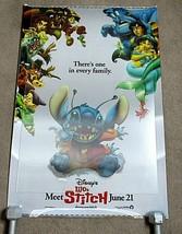 Disney Lilo and Stitch 3D Lenticular Original Movie Poster 27 x 40 - $148.50