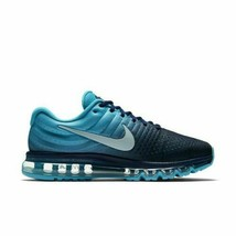 Men Nike Air Max 2017 Running Shoes Binary Blue Glacier Grey 849559-404 ... - $108.85