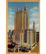 Waldorf Astoria 625 feet big  Hotel 47 story with twin tower  Park Ave N... - $8.95+