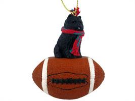 Chow Black Football Ornament - $17.99
