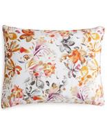 Sferra Este King Pillow Sham Botanical Print Long Staple Cotton Sateen I... - $79.90