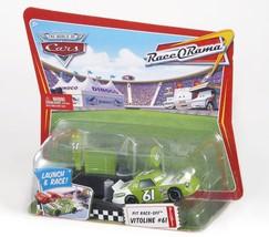 Disney/Pixar Cars Race O Rama Pit Race-Off Vitoline No. 61 With Launcher - $22.99