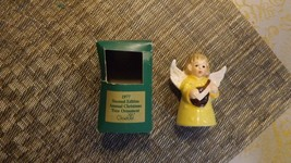 20#L   1977 Goebel Angel Bell Annual Christmas Tree Ornament In Original... - $9.89