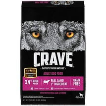 Crave Grain Free With Protein From Lamb And Venison Dry Adult Dog Food, 22 Pound