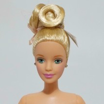 Ballerina Barbie Collector Doll With Stockings Blonde Updo Style - $29.69